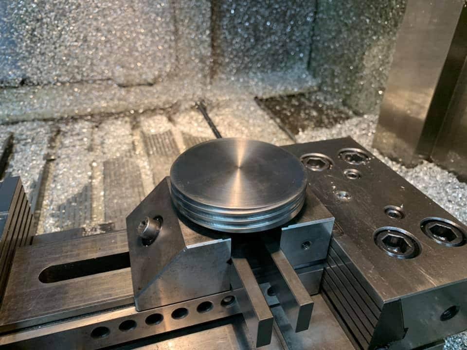 Usinage de pièces industrielles